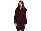 Cole Haan Suri Alpaca Belted Coat w/ Oversized Collar