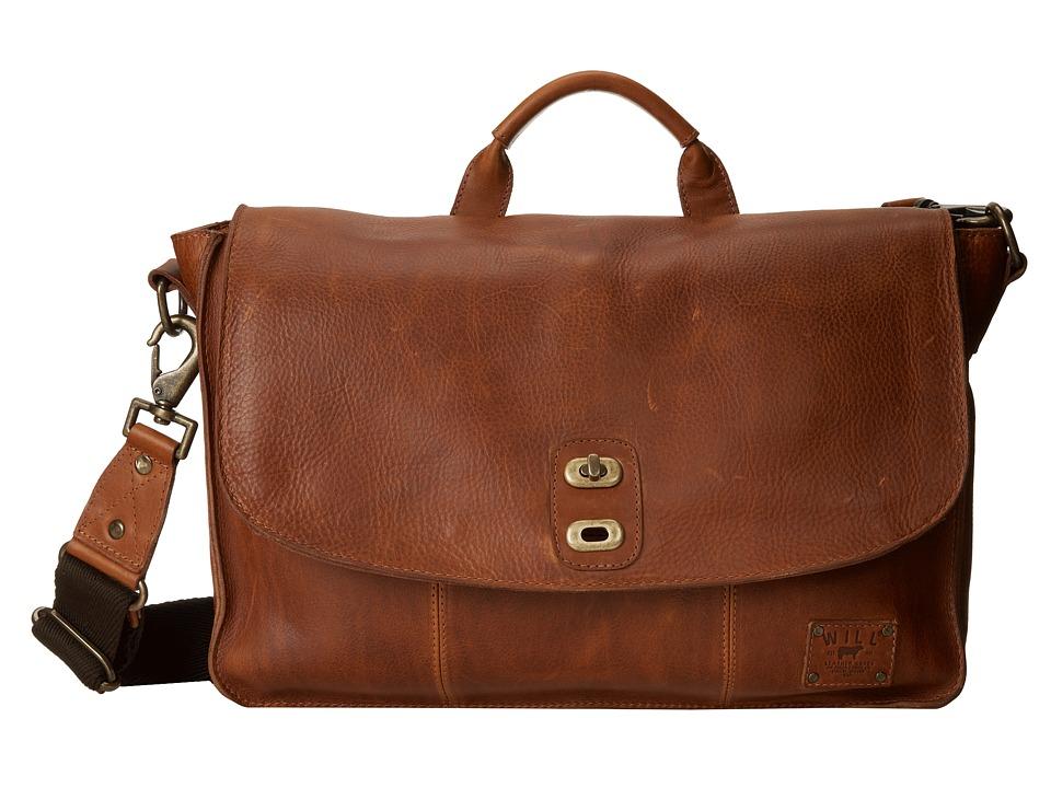 Will Leather Goods - Kent Messenger (Tan) Messenger Bags