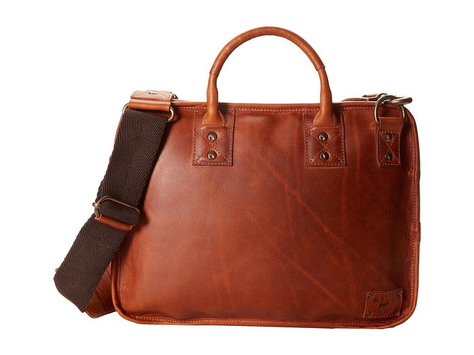 Will Leather Goods - Hank Satchel (Tan) Messenger Bags