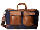 Will Leather Goods Traveler Duffle (Navy/Tan)
