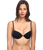 Emporio Armani - Cotton Delight Stretch Cotton With New Logo Custom Fit Push-Up Bra