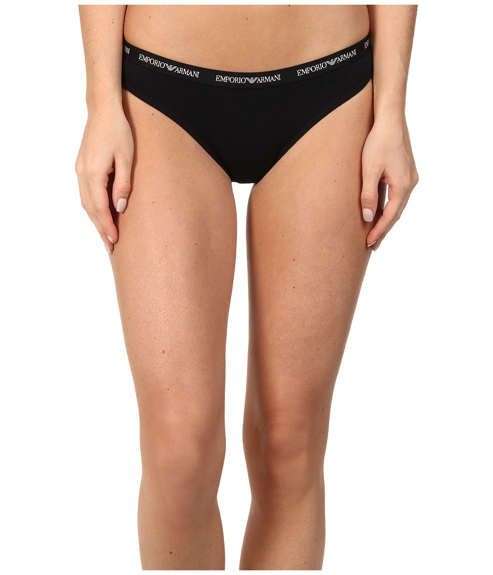 Emporio Armani - Cotton Delight Stretch Cotton With New Logo Thong