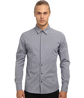 Pierre Balmain - Half Hidden Button Stretch Shirt