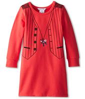 Little Marc Jacobs - Tromp L'Oeil Fleece L/S Dress (Toddler/Little Kids)