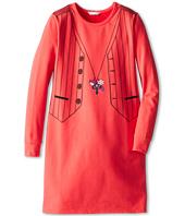 Little Marc Jacobs - Tromp L'Oeil Fleece L/S Dress (Big Kids)