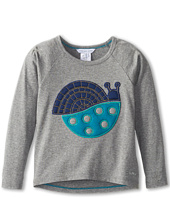 Little Marc Jacobs - Snail Applique Raglan Tee (Toddler/Little Kids)