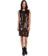 McQ - Blurry Lights-VO Volume Dress