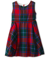 Oscar de la Renta Childrenswear - Plaid Wool Sleeveless Dress (Toddler/Little Kids/Big Kids)