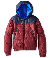 Little Marc Jacobs - Reversible Puffer Jacket Removable Sleeves (Big Kids)