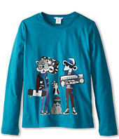 Little Marc Jacobs - Character Printed L/S Tee Shirt (Big Kids)