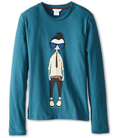 Little Marc Jacobs - Cool Mr Marc Printed L/S Tee (Big Kids)