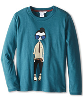 Little Marc Jacobs - Cool Mr Marc Printed L/S Tee (Little Kids/Big Kids)