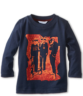 Little Marc Jacobs - L/S Mice Group Printed Tee (Toddler/Little Kids)
