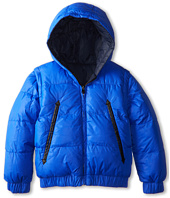 Little Marc Jacobs - Reversible Puffer Jacket Removable Sleeves (Toddler/Little Kids)