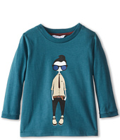 Little Marc Jacobs - Cool Mr Marc Printed L/S Tee (Toddler/Little Kids)