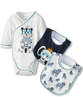 Little Marc Jacobs - L/S Body And 2 Bibs In A Box Set (Infant)