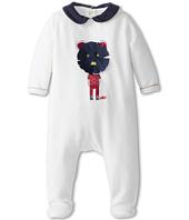 Little Marc Jacobs - Velour Illustrated Footie (Infant)