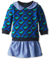 Little Marc Jacobs - Knit And Chambray Dress (Infant)