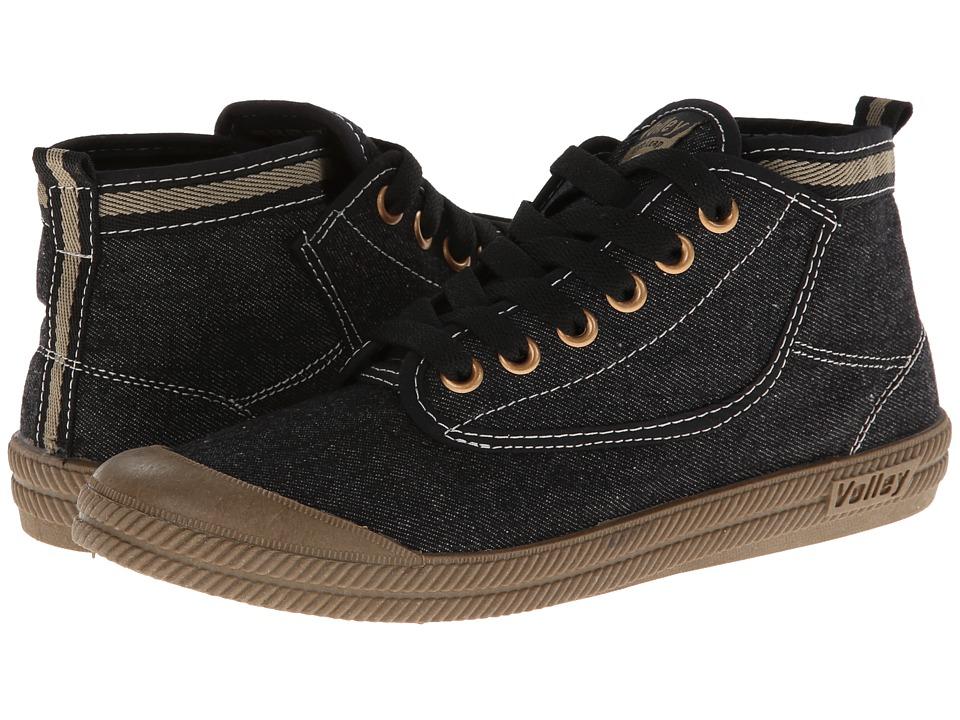 Volley Australia Hi Leap Black/Gum Athletic Shoes