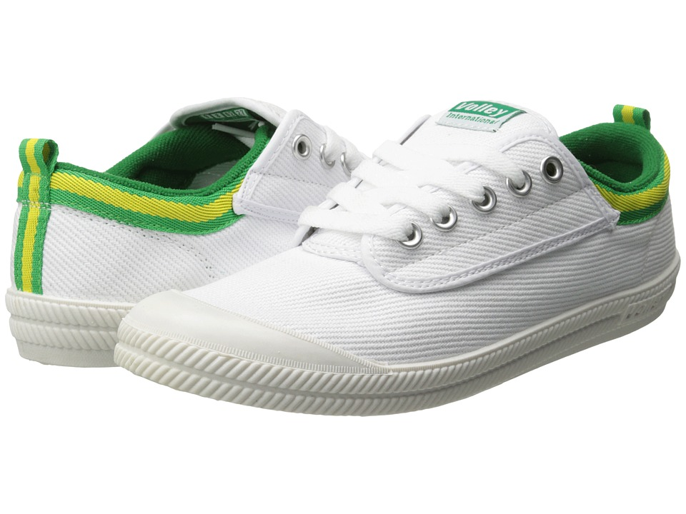Volley Australia International (White/Green/Gold) Athletic Shoes