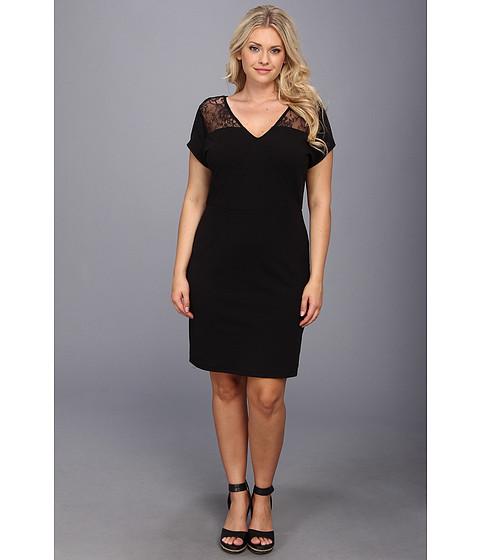 BB Dakota - Plus Size Grove Dress (Black) - Apparel