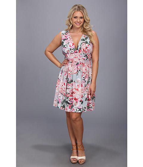 BB Dakota - Plus Size Gelsey Dress (Pink) - Apparel