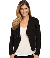 TWO by Vince Camuto - Ponte Asymmetrical Zip Moto Jacket