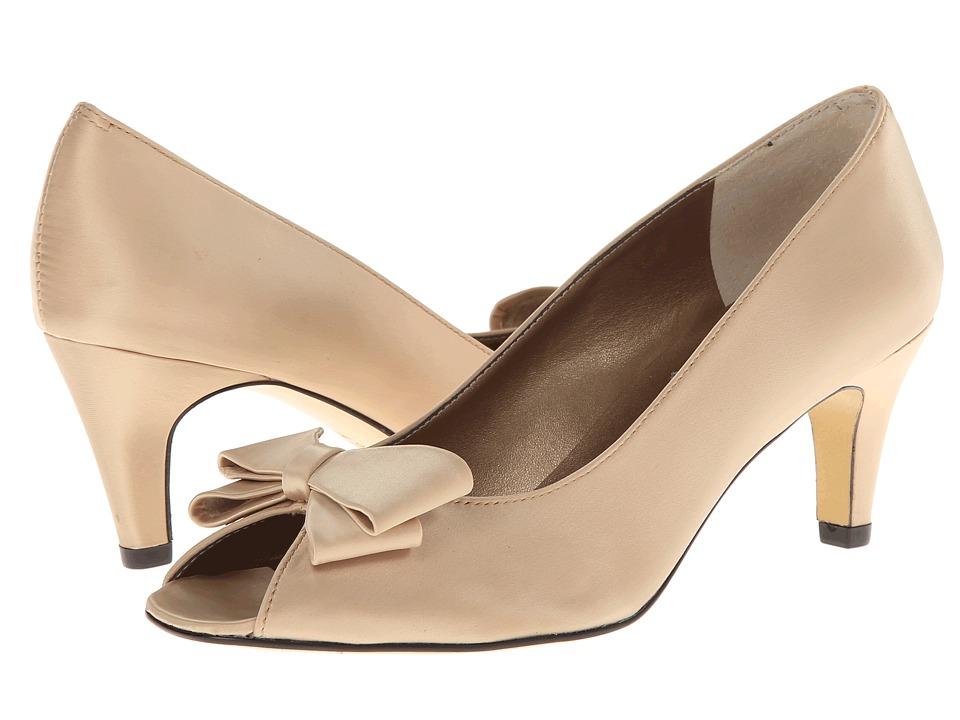 rsvp Medora (Champagne Satin) High Heels
