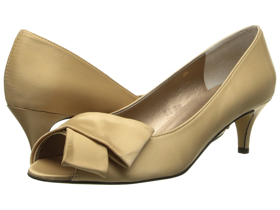 rsvp Udela (Champagne Satin) High Heels