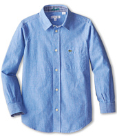 Lacoste Kids - L/S Oxford Shirt (Little Kids/Big Kids)