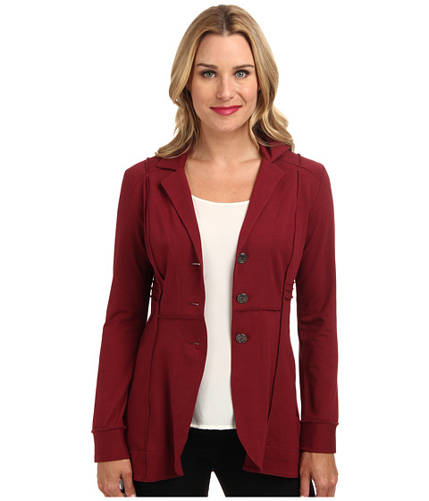 NIC+ZOE - Seamed Riding Jacket (Spilled Cranberry) - Apparel