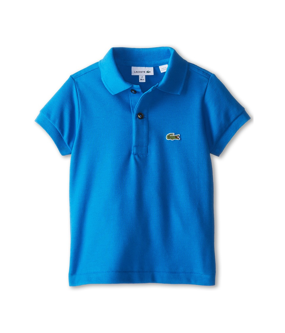 Lacoste Kids - Short Sleeve Classic Pique Polo Shirt (Toddler/Little Kids/Big Kids) (West Indies) Boy