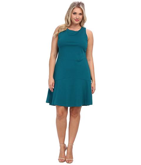 BB Dakota - Plus Size Hallows Dress (Deep Lake) - Apparel