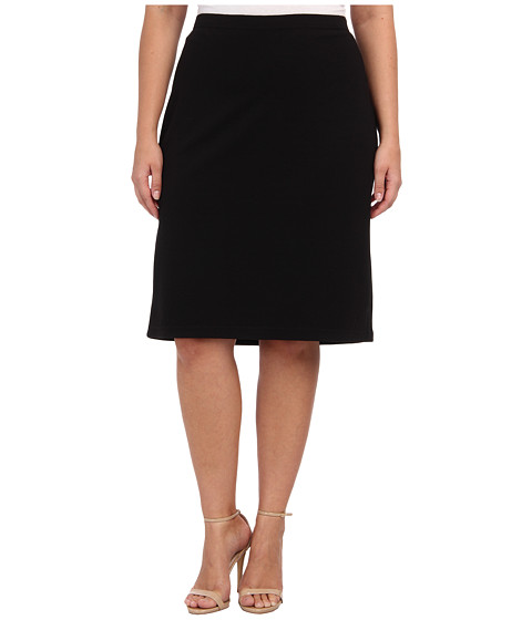 BB Dakota Plus Size Burgess Skirt (Black) Women's Skirt