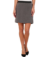 TWO by Vince Camuto - Croc Texture Quilted Mini Skirt