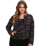 BB Dakota - Plus Size Ascot Jacket