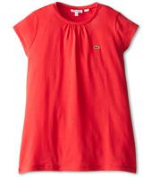 Lacoste Kids - Cap Sleeve Crewneck T-Shirt (Toddler/Little Kids/Big Kids)