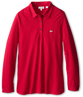 Lacoste Kids - L/S Soft Blend Pique Polo (Toddler/Little Kids/Big Kids)