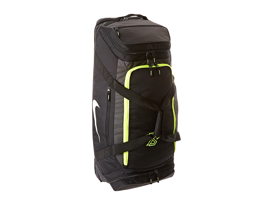 Nike - MVP Elite Roller Bag (Black/Anthracite/(Volt)) Duffel Bags