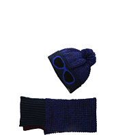 Little Marc Jacobs - Knitted Hat And Scarf Set (Big Kids)
