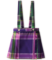 Oscar de la Renta Childrenswear - Plaid Wool Pleated Kilt (Toddler/Little Kids/Big Kids)