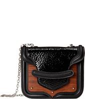 Alexander McQueen - Wood Plates Heroine Mini Chain Satchel