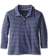 Oscar de la Renta Childrenswear - Stripe Cotton L/S Polo (Infant)