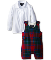 Oscar de la Renta Childrenswear - Plaid Wool Romper (Infant)