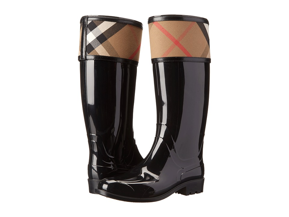 Burberry - Crosshill (Black) Womens Pull-on Boots