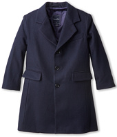 Oscar de la Renta Childrenswear - Wool Loden Overcoat (Toddler/Little Kids/Big Kids)