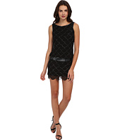Adrianna Papell - Short Fish Scale Bead Dress