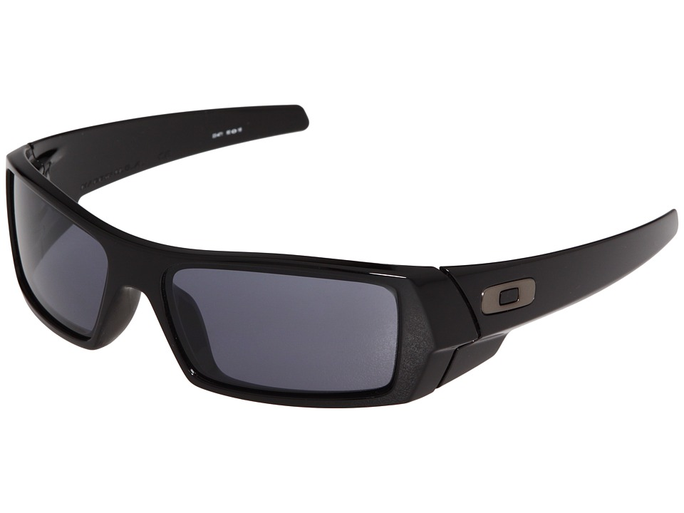 Oakley - GasCan(r) (Polished Black/Grey) Sport Sunglasses