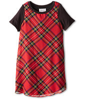 Us Angels - S/S Plaid Trapeze Dress (Big Kids)
