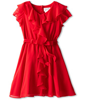 Us Angels - Ruffle Front w/ Full Skirt (Big Kids)